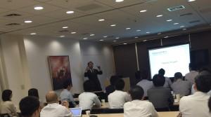 2016年9月23日 若手経営者の会 採用についての講演をしました。